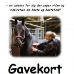 Gavekort-heste